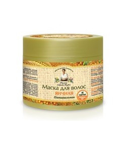 Maska do włosów jajeczna - odżywcza - Receptury Babci Agafii 300 ml