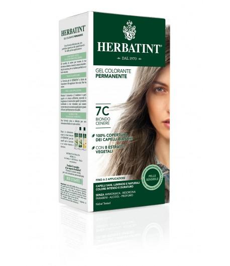 Trwała Farba Herbatint 7C Popielaty Blond (seria popielata)