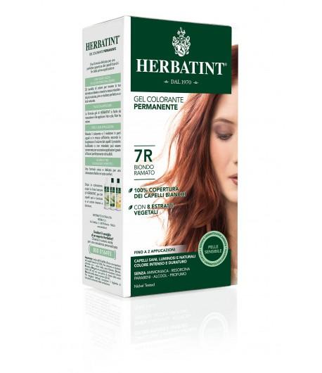 Trwała Farba Herbatint 7R Miedziany Blond (seria miedziana)
