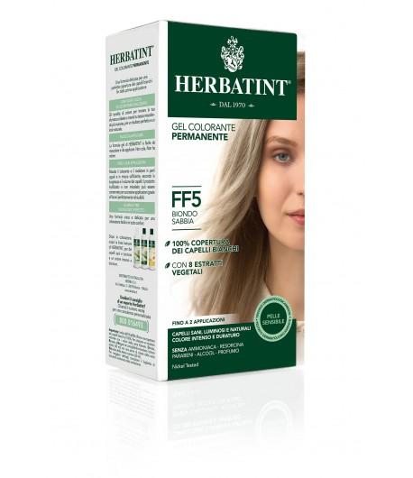 Trwała Farba Herbatint FF5 Piaskowy Blond (seria modny błysk)