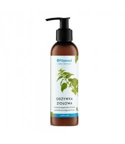 Odżywka ziołowa normalizująca do włosów przetłuszczających się - Zioła i Biotyna - Fitomed 200 ml