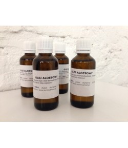 Olej Aloesowy (Aloe barbadensis) macerat - Sunniva Med 50 ml