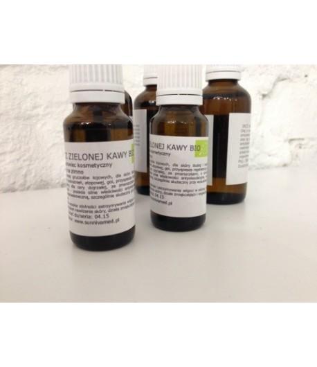 Olej z zielonej kawy tłoczony na zimno BIO - Sunniva Med 20 ml
