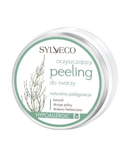 Oczyszczający peeling do twarzy - Sylveco 75 ml