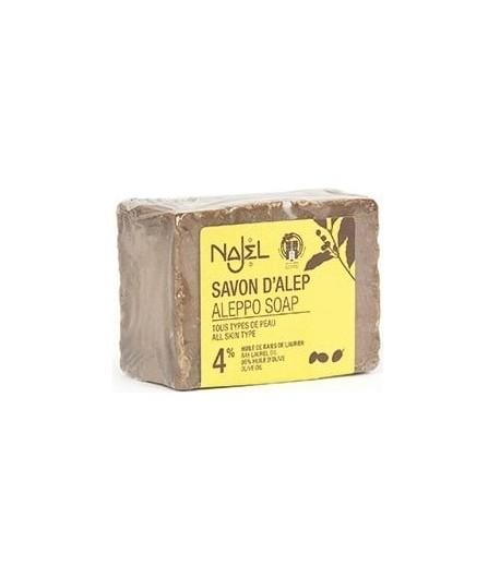 Mydło Oliwkowo - Laurowe z Aleppo 4% - Najel 155 g