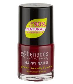 Lakier do paznokci - Wiśniowa czerwień - Benecos 9 ml