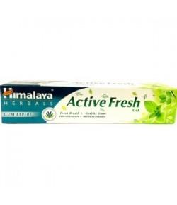 Active Fresh - pasta do mycia zębów w żelu - Himalaya 80 g