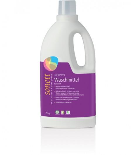 Ekologiczny płyn do prania Lawendowy - Sonett 2 litry