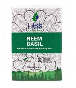 Mydełko tonizujące z neem i bazylią 125 g Lass