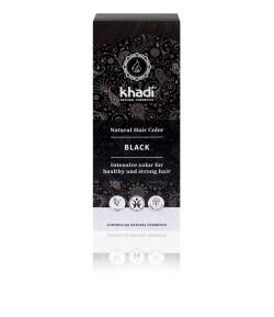 Naturalna Henna Kolor Czarny - Khadi 100 g