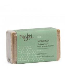 Miodowe mydło oliwkowo - laurowe Aleppo - Najel 100g