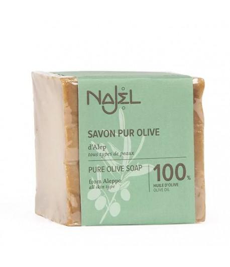 Mydło z Aleppo 100% Oliwkowe - Najel 200 g
