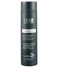 Szampon przeciw wypadaniu włosów - Werbena i Cytrus - EO LAB Man 250 ml
