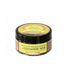 Czarne Mydło (savon noir) - werbena - Beaute Marrakech 100 g