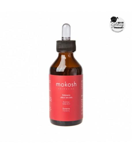 Odżywczy eliksir do ciała Żurawina - MOKOSH 100 ml