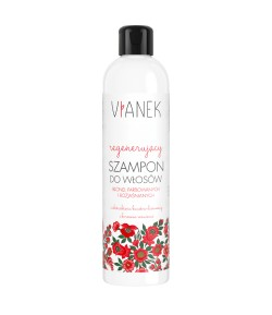 Regenerujący szampon do włosów blond, farbowanych, rozjaśnianych - Vianek 300 ml