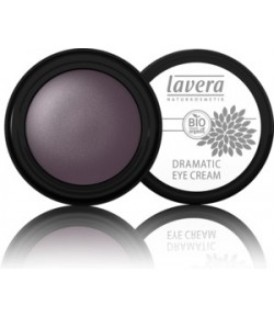 Cień do powiek w kremie - Dramatic Eye Cream - Soul Plum 02 - Lavera 4 g