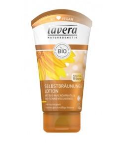 Samoopalający lotion do ciała z bio-olejem makadamia i bio-olejemsłonecznikowym - Lavera 150 ml