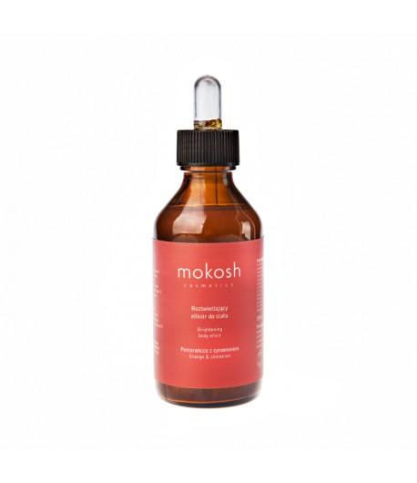 Rozświetlający eliksir do ciała Pomarańcza z cynamonem - MOKOSH 100 ml