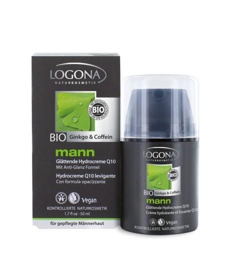 Wygładzająco-nawilżający krem z koenzymem Q10 - Mann BIO - Logona 50 ml
