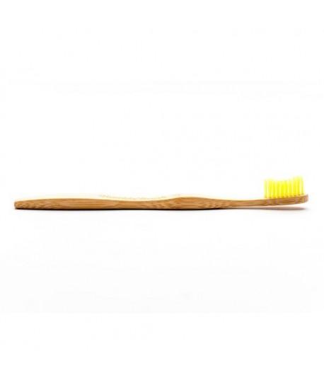 Bambusowa szczoteczka do zębów SOFT żółta 19cm - Humble Brush