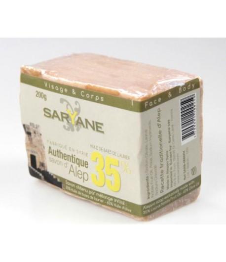 Mydło Aleppo 35% - Saryane 200 g