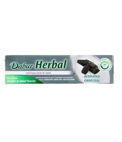 Pasta do zębów z węglem aktywnym - Dabur 100 ml
