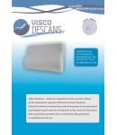 Poduszka wiskozowo-elastyczna profilowana - Visco Descans 50