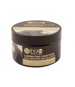 Laminująca maska do włosów - EO LAB STRANY 250 ml