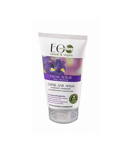 Scrub do twarzy - oczyszczający - EO LAB 150 ml