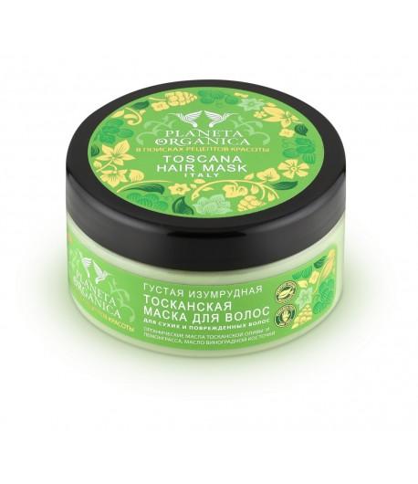 Maska Toskańska do włosów suchych - Planeta Organica 300 ml
