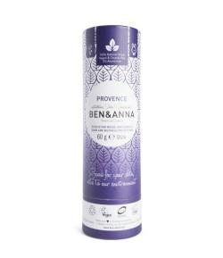 Naturalny dezodorant PROVENCE - sztyft kartonowy - BEN&ANNA 60g