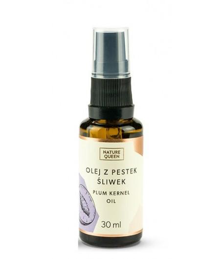 Olej z pestek śliwki - Nature Queen 30 ml