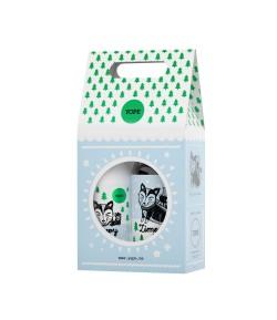 Zestaw Mydło & Balsam Zimowy Las - Yope 500 ml + 300 ml