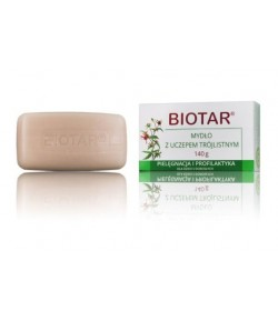 Mydło z uczepem trójlistnym - Biotar 140 g