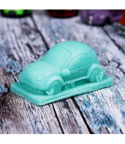 Mydło glicerynowe - Pan samochodzik - zielony - LaQ 60 g
