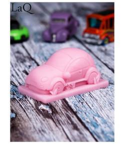 Mydło glicerynowe - Pan samochodzik - różowy - LaQ 60 g