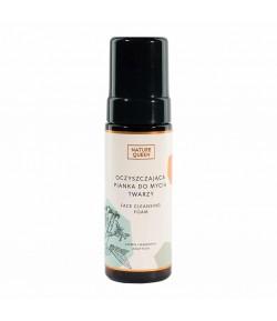 Oczyszczająca pianka do mycia twarzy - Nature Queen 175 ml