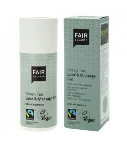 Lubrykant i żel do masażu z zieloną herbatą - Fair Squared 150 ml