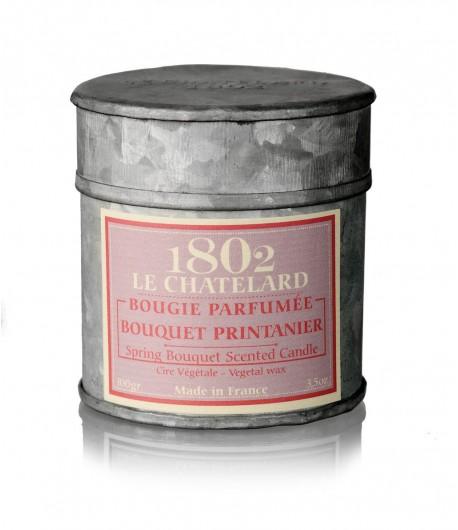 Świeca zapachowa WIOSENNY BUKIET 100 g - LE CHATELARD 1802