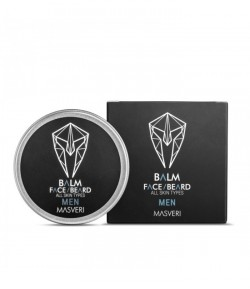 Balsam do twarzy i brody All Skin Types Men - Masveri 50 ml