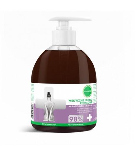 Mydło potasowe z olejkiem lawendowym - Ecocera 300 ml