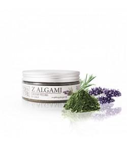 Cukrowy Peeling do ciała z Algami - Fresh&Natural 250g