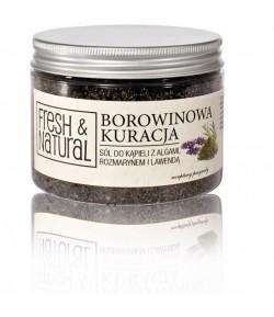 Borowinowa kuracja - sól do kąpieli - Fresh&Natural 500g