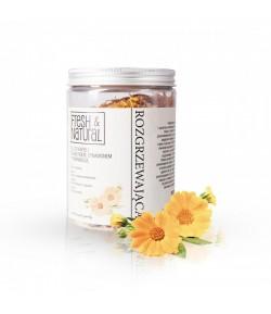 Rozgrzewająca sól do kąpieli z Nagietkiem, Cynamonem i Pomarańczą - Fresh&Natural 1 kg