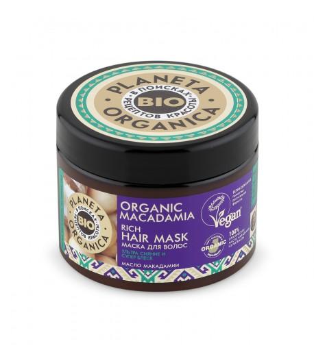 Maska do włosów ORGANIC MACADAMIA - Planeta Organica 300ml
