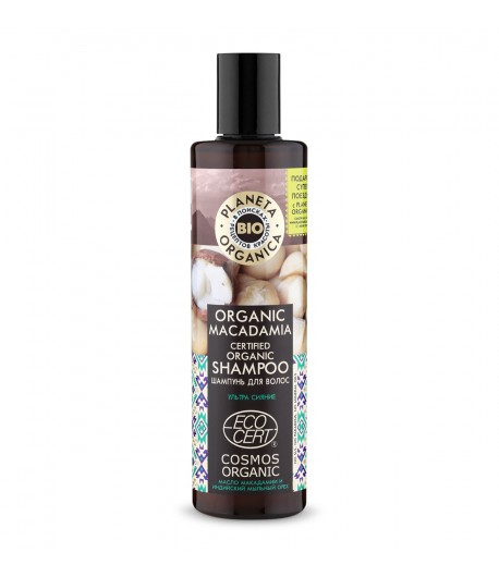 Szampon do włosów ORGANIC MACADAMIA - Planeta Organica 280ml