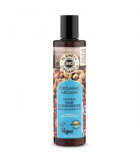 Balsam do włosów ORGANIC ARGANA - Planeta Organica 280ml