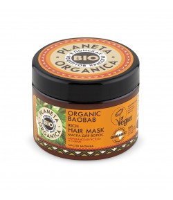 Maska do włosów ORGANIC BAOBAB - Planeta Organica 300ml