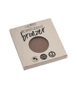 Bronzer 04R matujący (ciemny brąz) - wkład - 9 g PuroBIO
